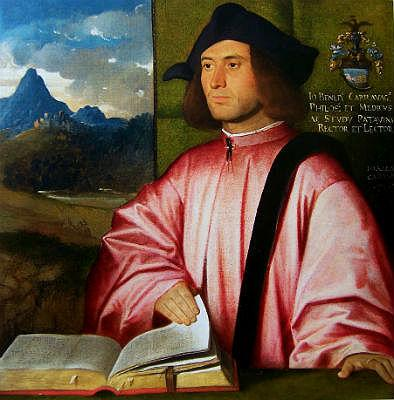 Джованни Бузи, прозванный Кариани. Портрет Джованни Бенедетто Караваджи. Ок.  1520