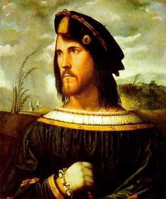 Альтобелло Мелоне. Портрет дворянина. 1533