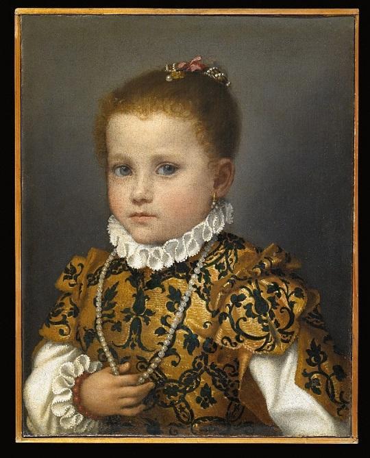 Джованни Баттиста Морони. Портрет девочки из семейства Редетти. 1570