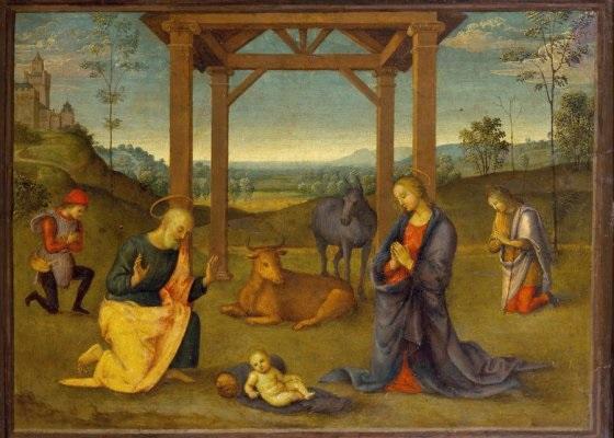 Пьетро Перуджино и мастерская. Рождество Христово. 1504