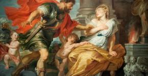 Питер Пауль Рубенс.Марс и Рея Сильвия.1616