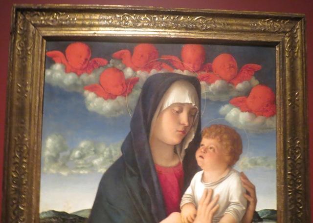 Джованни Беллини. Мадонна с красными херувимами. Образ Мадонны