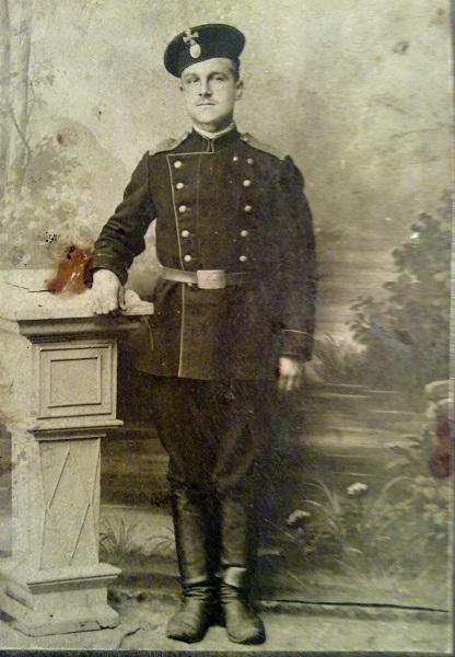 Участник Первой мировой войны Кузнецов Иван Андреевич, мой дедушка