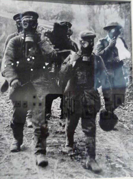 Газовая атака. 1916