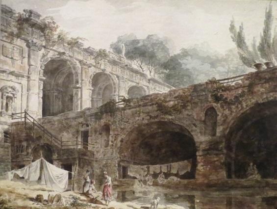 Гюбер Робер. Вилла Мадама. 1760