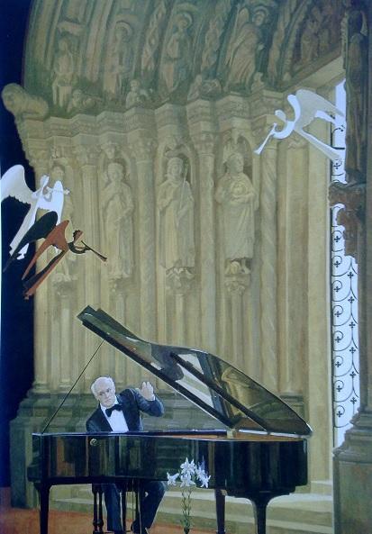 Дмитрий Жилинский. Играет Святослав Рихтер. 1985. Русский музей