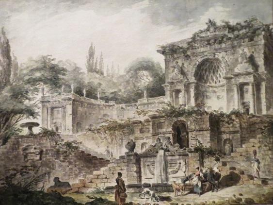 Гюбер Робер. Вилла Саккети. 1760