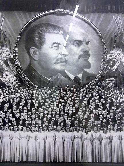 Евгений Халдей. Песня о Сталине. Большой Театр. Москва, 1946