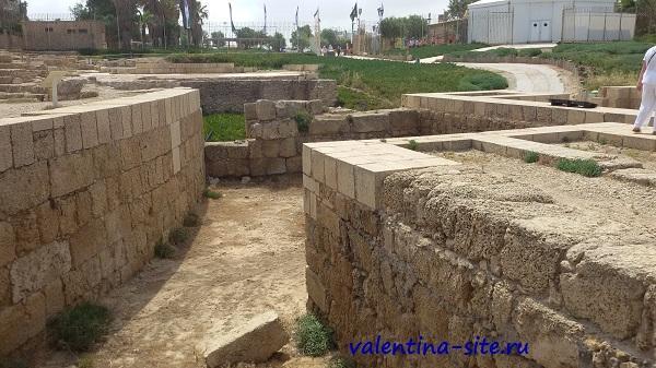 Израиль, Кейсария, царь Ирод и его ипподром