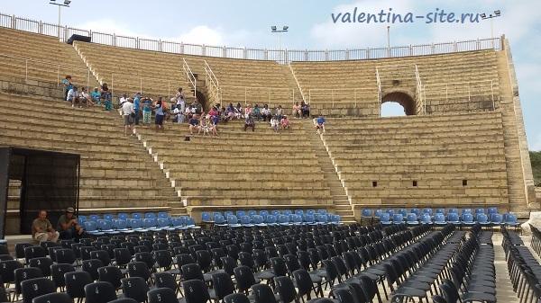 Израиль. Кейсария, римский театр