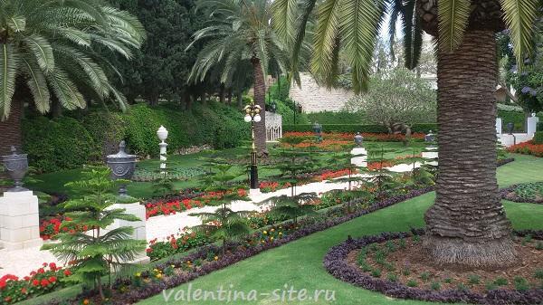 Израиль, Хайфа, Бахайские сады
