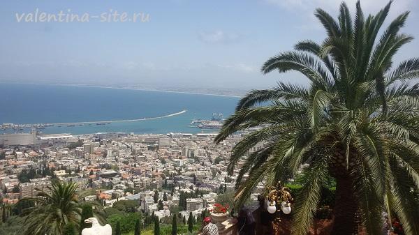 Израиль, Хайфа, Бахайские сады.