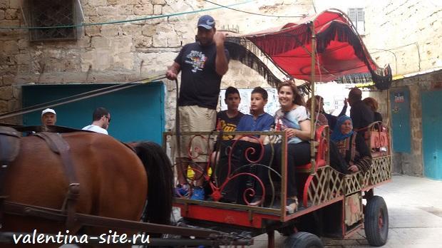 Израиль, на улочках Акко