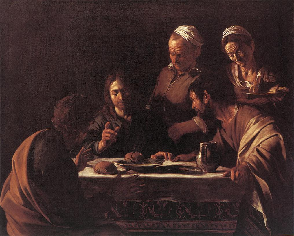 Караваджо. Христос в Эммаусе
