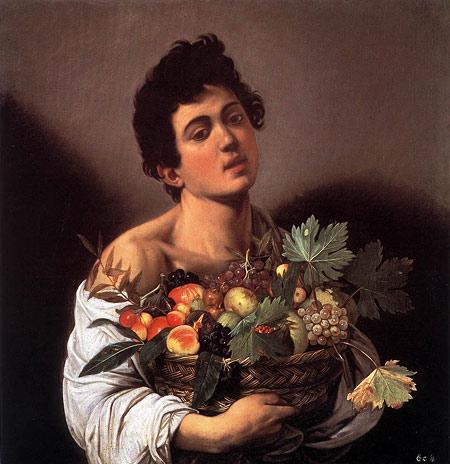 Караваджо. Юноша с корзиной фруктов