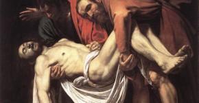 Караваджо. Положение во гроб. 1602-1604