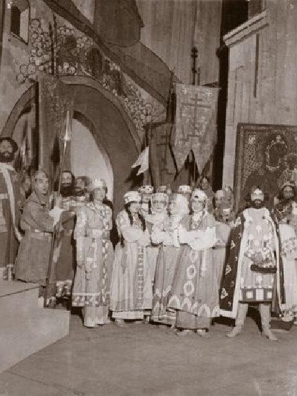 М.Н.Кузнецова-Бенуа в роли Ярославны