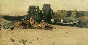 Константин Коровин. Пикник. 1880