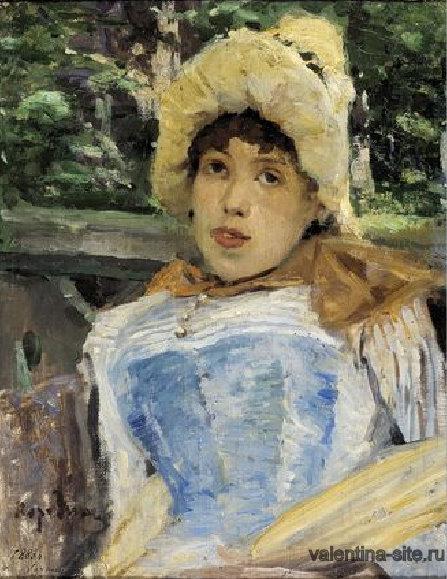 Константин Коровин. Портрет хористки. 1887