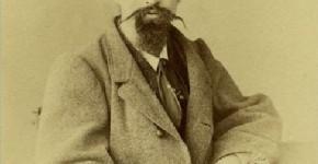 Алексей Михайлович Коровин, отец художника. 1860-е
