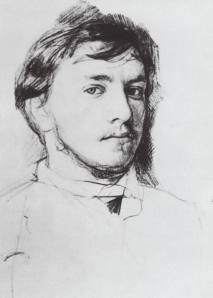Валентин Серов. Автопортрет. 1885