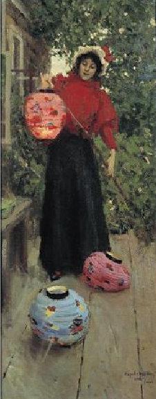 Константин Коровин. Бумажные фонари. 1898