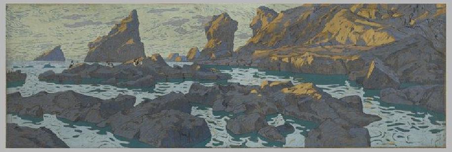 Константин Коровин. Птицы на скалах полярного моря
