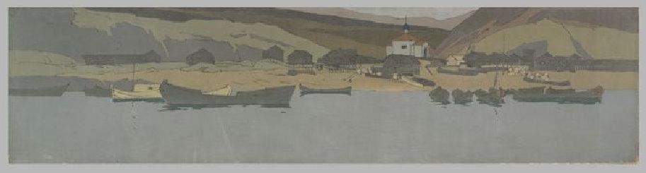 Константин Коровин. Вид поселка