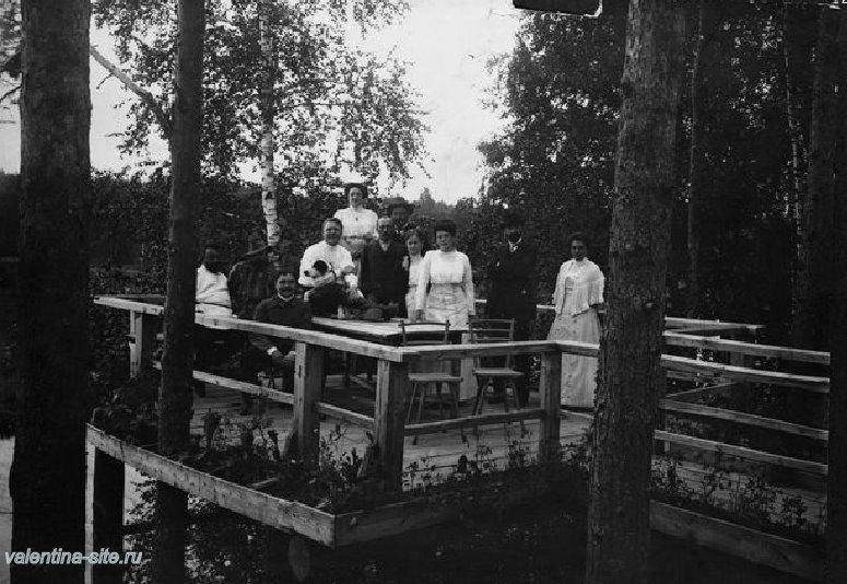 У Шаляпиных в Ратухине. 1900-е
