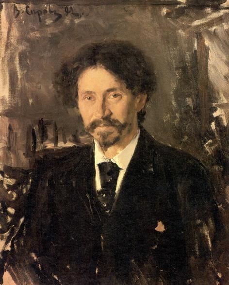 Валентин Серов. Портрет И.Е.Репина. 1892