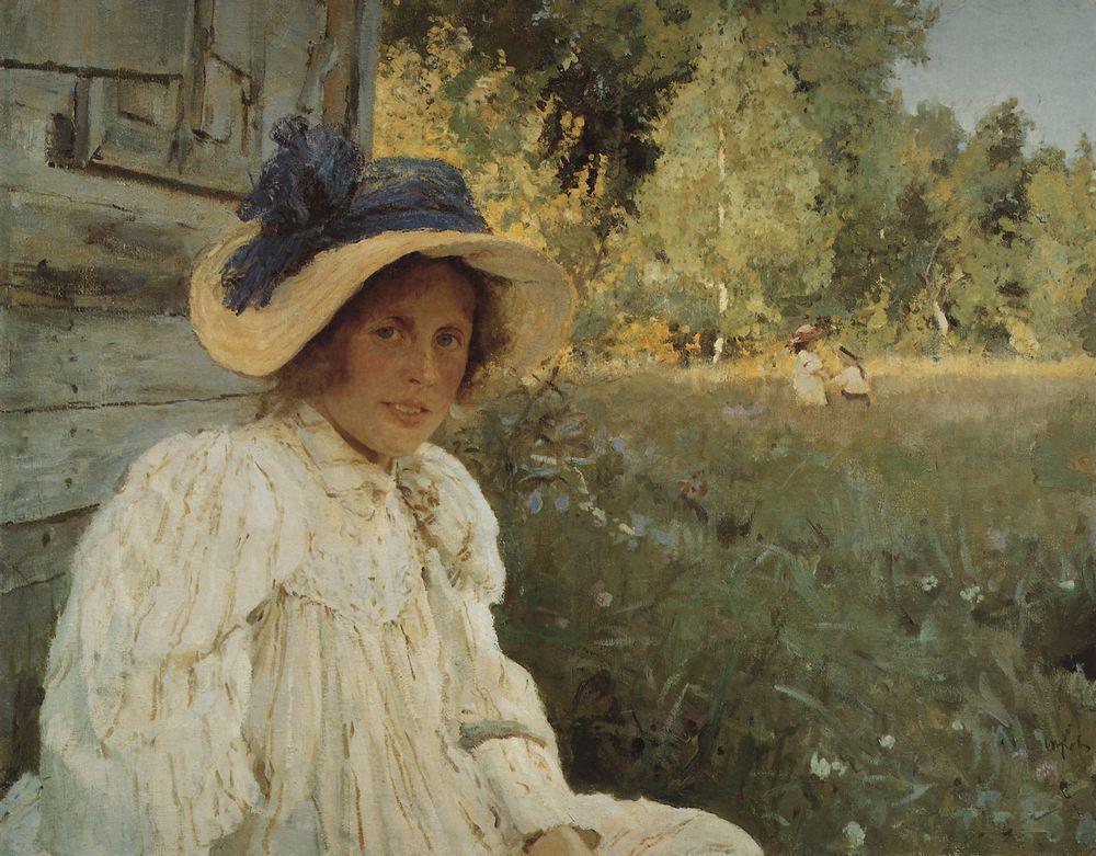 Валентин Серов. Летом.1895