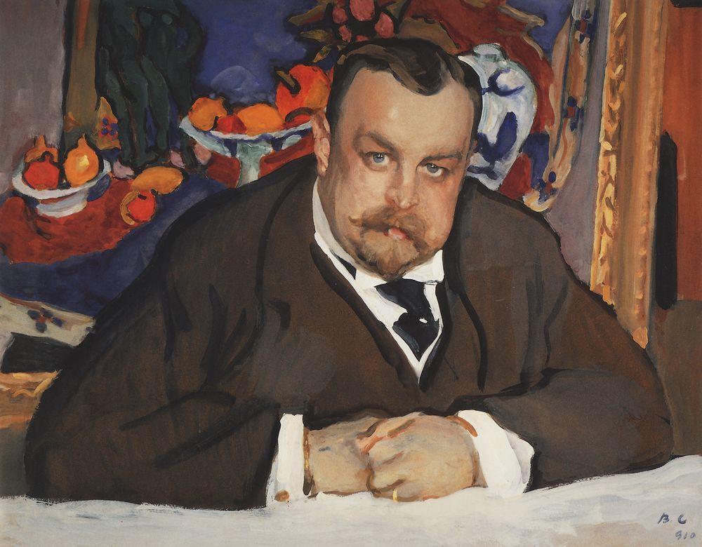 Валентин Серов. Портрет И.А.Морозова. 1910