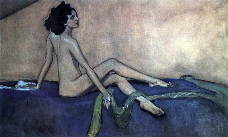Валентин Серов.Портрет Иды Рубинштейн. 1910