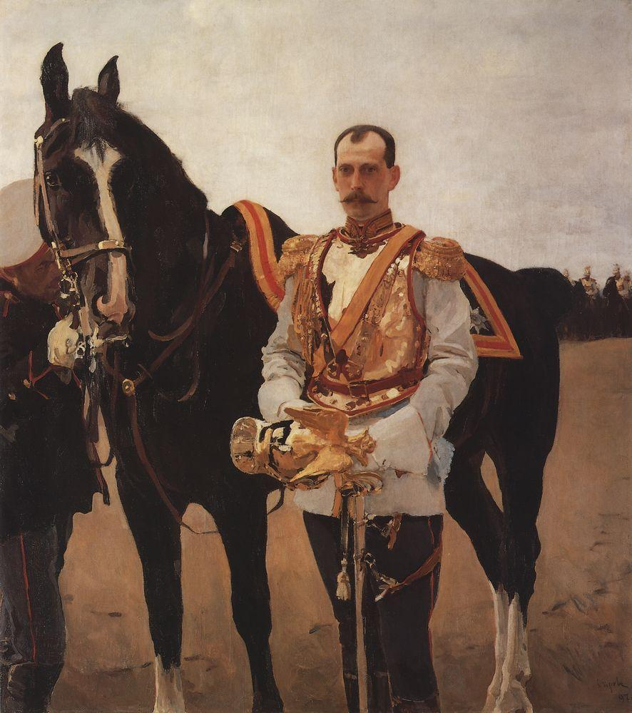 Валентин Серов. Портрет Великого князя Павла Александровича.1897
