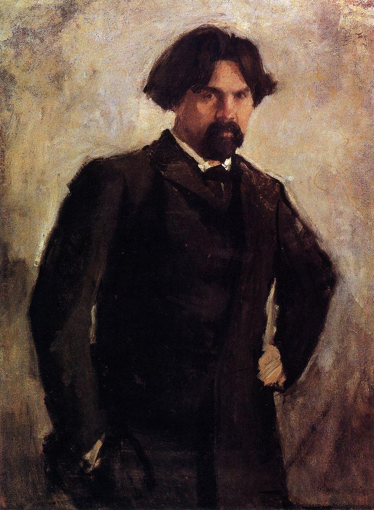 Валентин Серов. Портрет художника Василия Сурикова