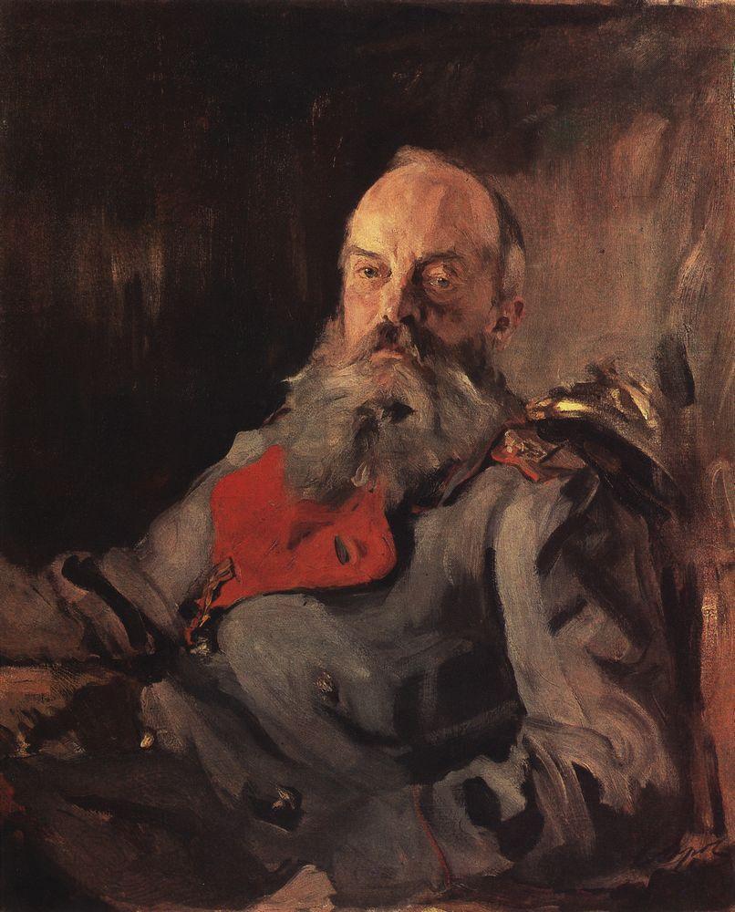 Валентин Серов. Портрет великого князя Михаила Николаевича в тужурке. 1900