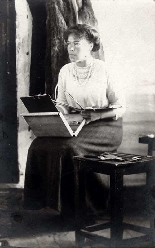 Великая княгиня Ольга Александровна - художник