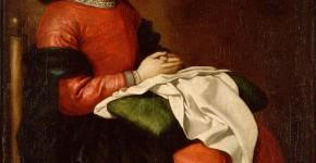 Франсиско Сурбаран. Отрочество Богоматери. Ок.1660