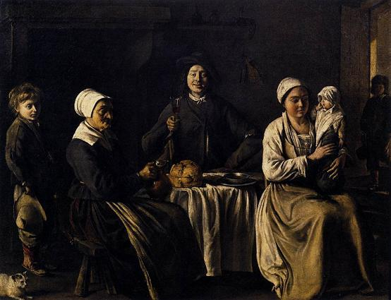 Братья Ленен. Счастливое семейство (Возвращение с крестин) 1642