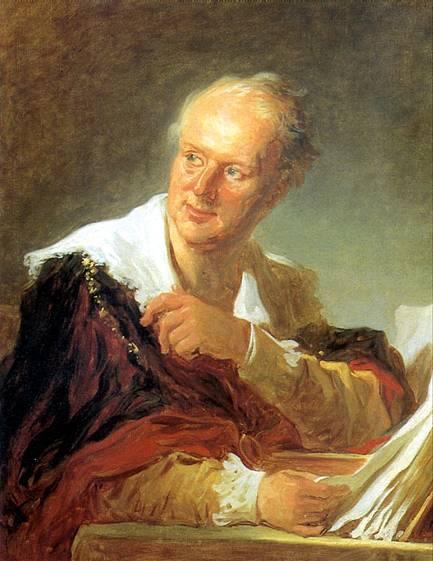 Фрагонар. Портрет Дидро. 1769