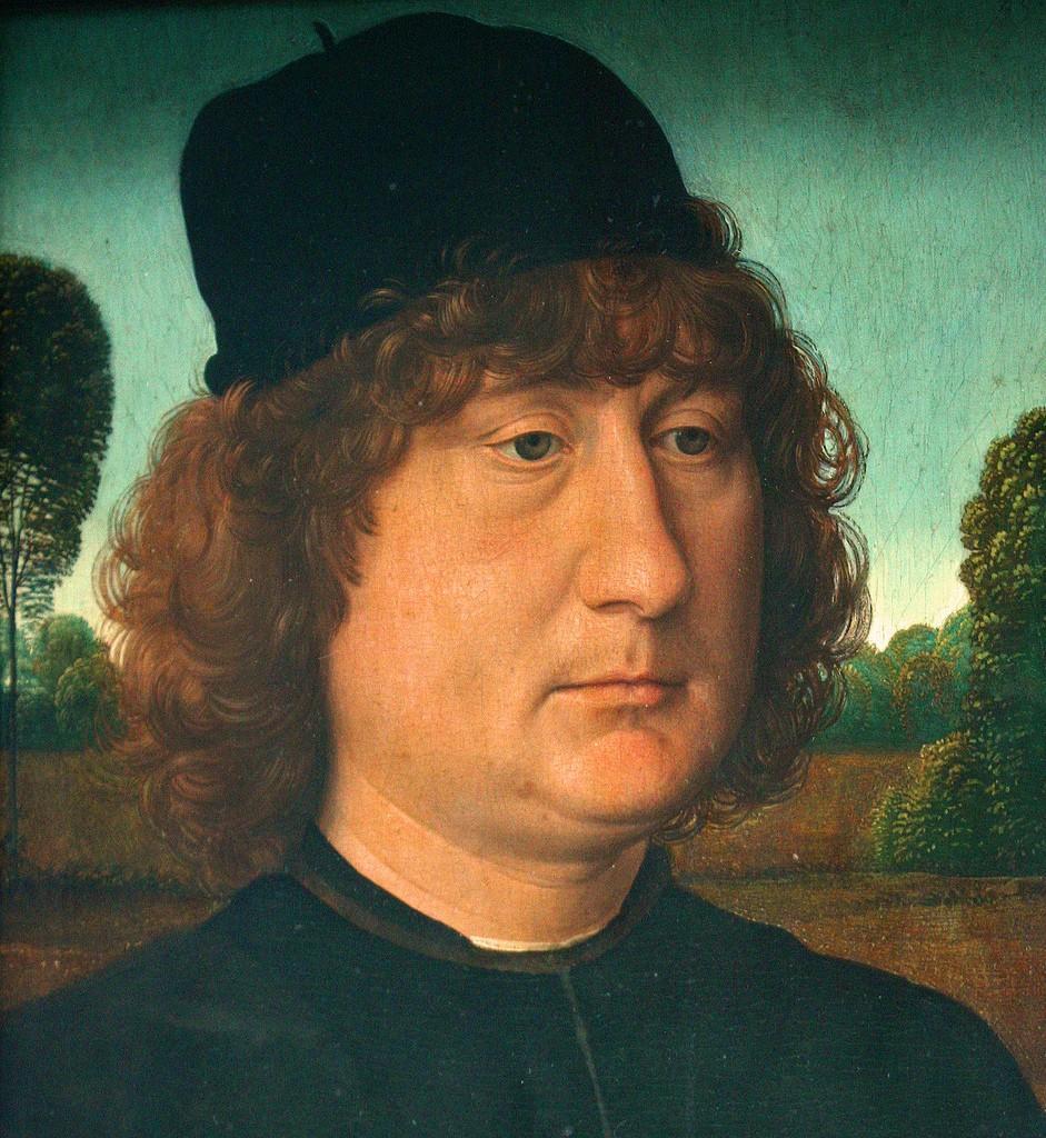 Ханс Мемлинг. Мужской портрет