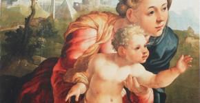 Ян ван Скорел. Мадонна с Младенцем