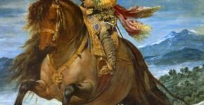 Веласкес. Конный портрет принца Бальтасара Карлоса. Ок.1635