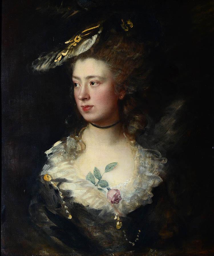 Томас Гейнсборо. Портрет Мэри, дочери художника (1777)