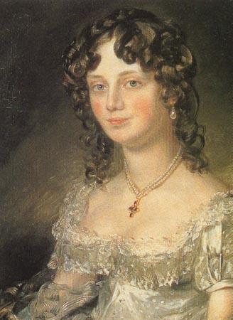 Джон Констебл. Портрет миссис Мери Фишер (1816)