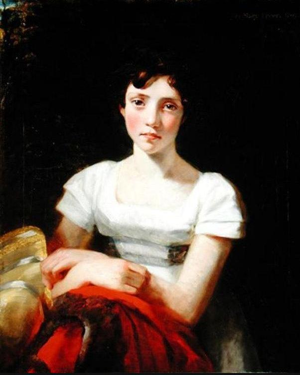 Джон Констебл. Портрет Мери Фрир. 1809