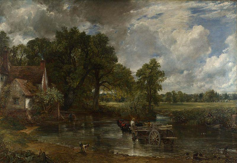 Джон Констебл. Телега для сена. 1821