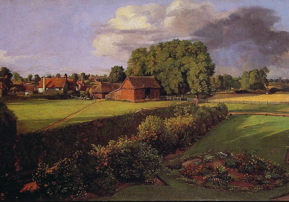 Джон Констебл. Сад в Голдинге. 1815