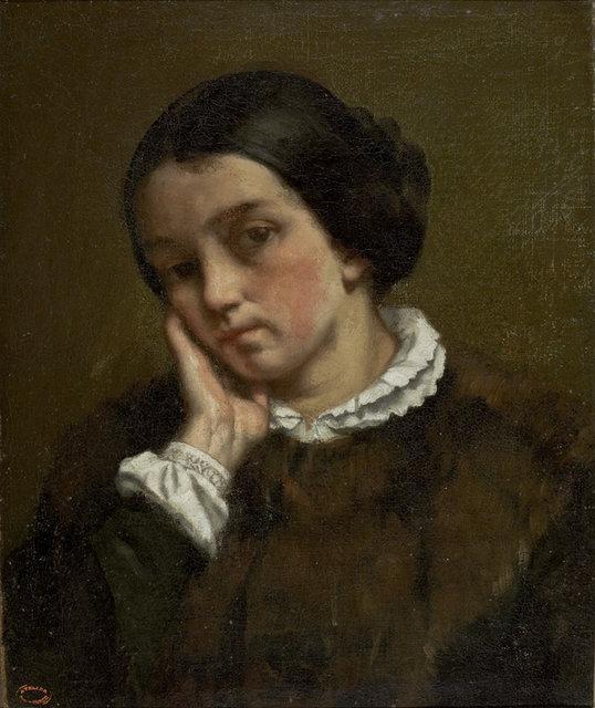 Гюстав Курбе. Портрет Жульетты Курбе. 1874