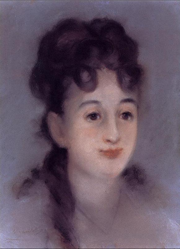 Эдуард Мане. Портрет Евы Гонзалес. 1878